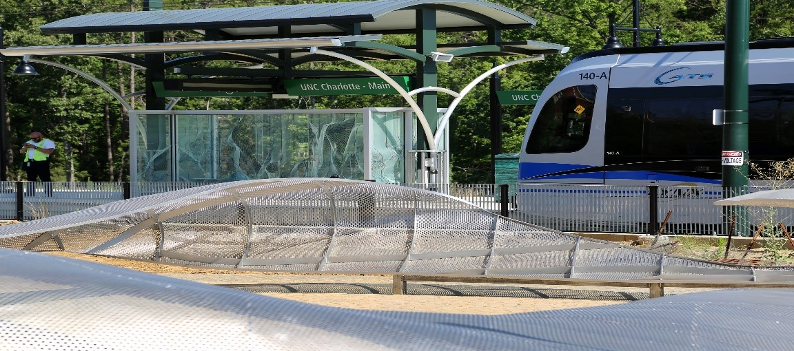 Light Rail Connects Uptown Charlotte to UNC Charlotte